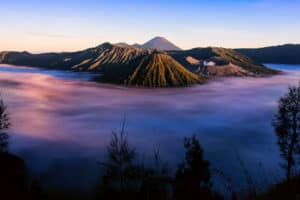 Volcan mont bromo java indonesie