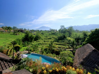 Hotel in Sidemen in Bali in Indonesia