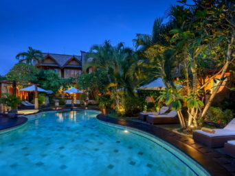 Hotel in Petitenget in Bali in Indonesia
