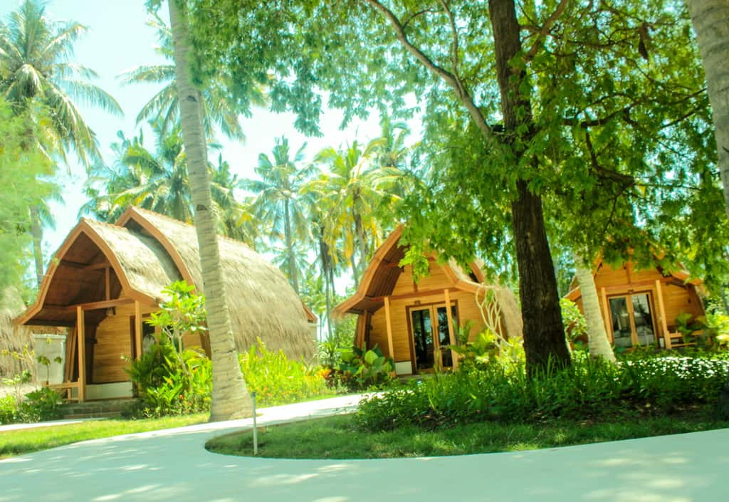 Hotel Gili AIr Lombok en Indonesie
