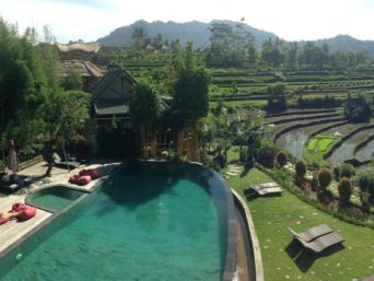 Hotel in Sidemen Bali in Indonesia